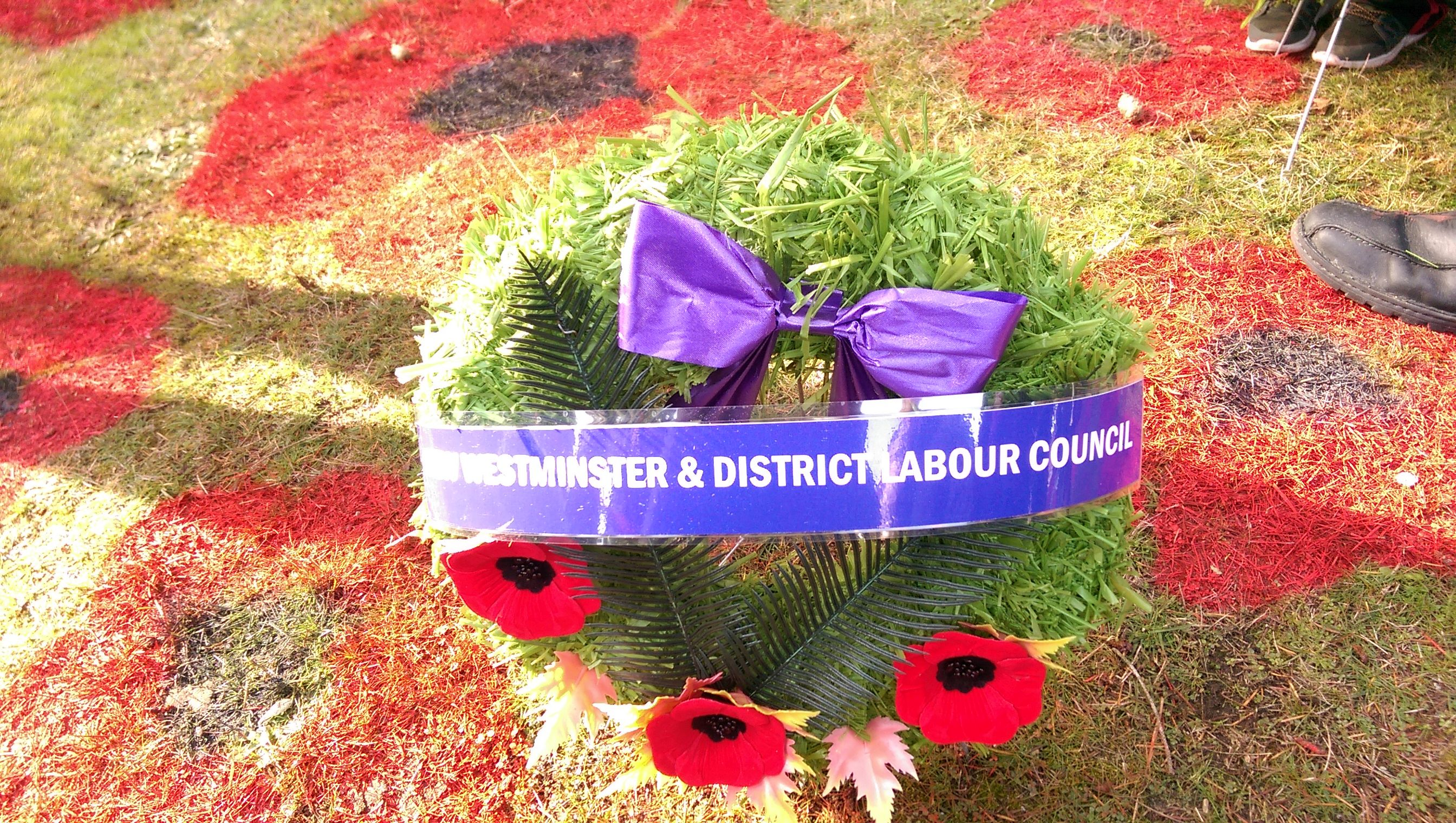 Coquitlam wreath